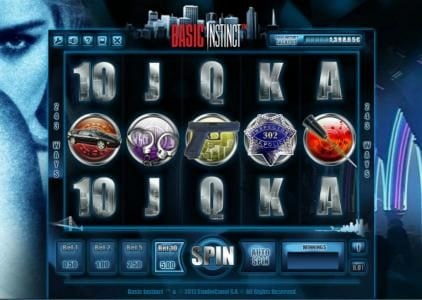 Play slots at Jackie Jackpot: Jackie Jackpot featuring the Video Slots Basic Instinct with a maximum payout of $1,500