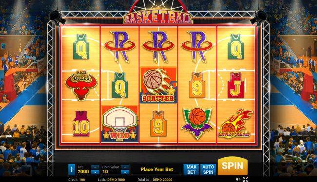 Basketball :: Main Game Board