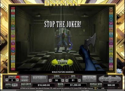 stop the joker