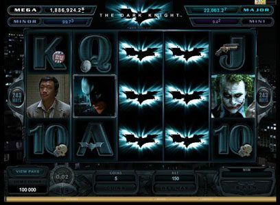Mongoose Casino featuring the Video Slots Batman - The Dark Knight with a maximum payout of Jackpot