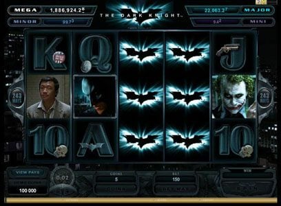 YouWin featuring the Video Slots Batman - The Dark Knight with a maximum payout of Jackpot