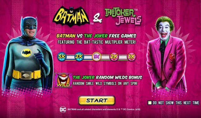 Play slots at Slots Heaven: Slots Heaven featuring the Video Slots Batman and the Joker Jewels with a maximum payout of Jackpot