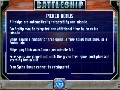picker bonus rules