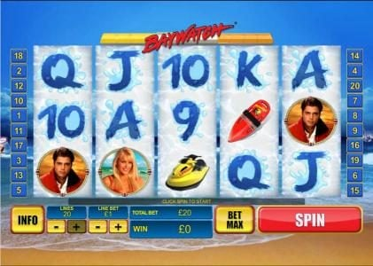 Play slots at My Win 24: My Win 24 featuring the Video Slots Baywatch with a maximum payout of $150,000