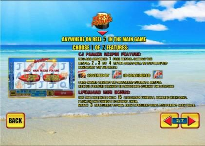 Carnival featuring the Video Slots Baywatch with a maximum payout of $150,000