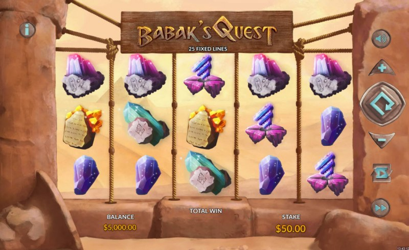 Babak's Quest :: Main Game Board