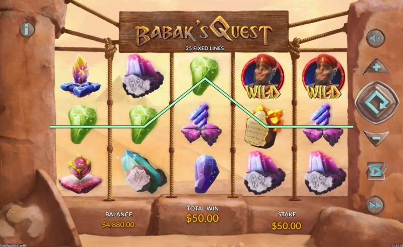Babak's Quest :: Three of a kind