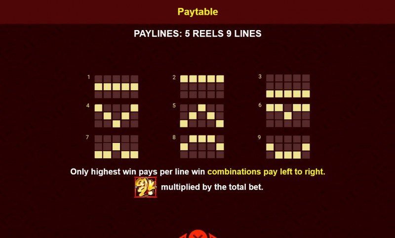 Baby Cai Shen :: Paylines 1-9