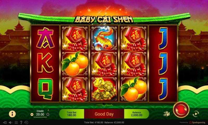 Baby Cai Shen :: Main Game Board