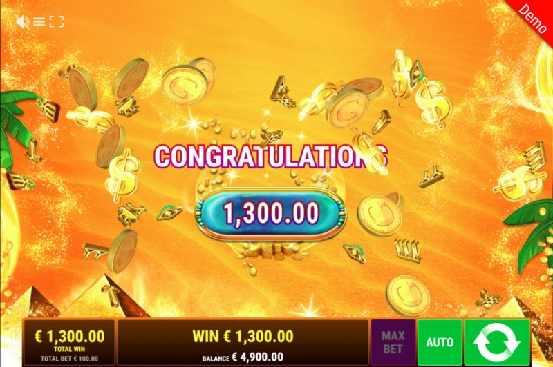 Back to the Fruits Respins of Amun Re :: Total free spins payout