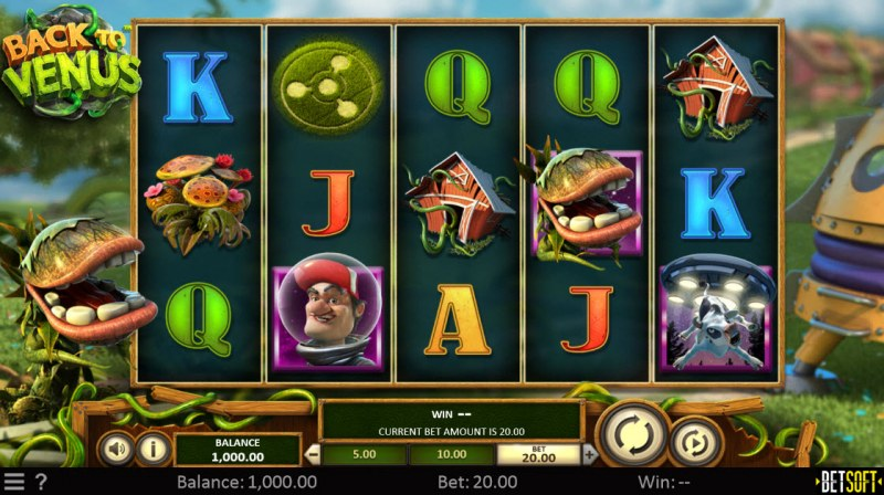 Back to Venus :: Main Game Board