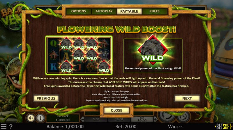 Back to Venus :: Flowering Wild Boost