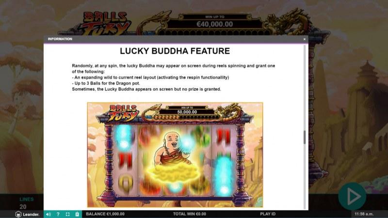 Balls of Fury :: Lucky Buddha Feature