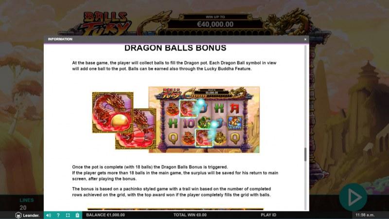 Balls of Fury :: Dragon Balls Bonus