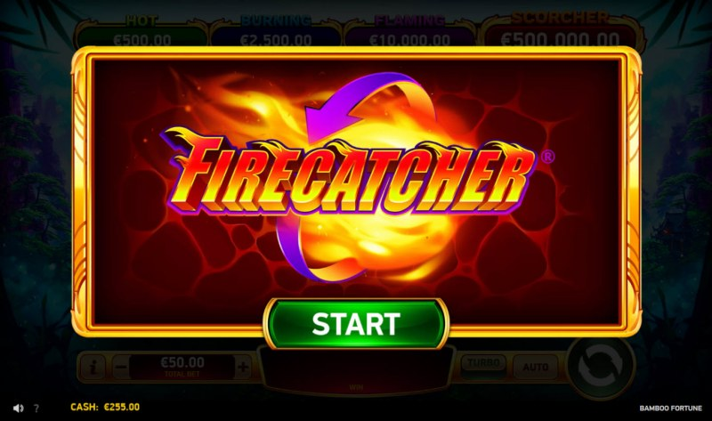 Bamboo Fortune :: Firecatcher feature activated