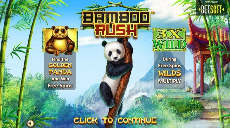 Play slots at Bella Vegas: Bella Vegas featuring the Video Slots Bamboo Rush with a maximum payout of $500,000