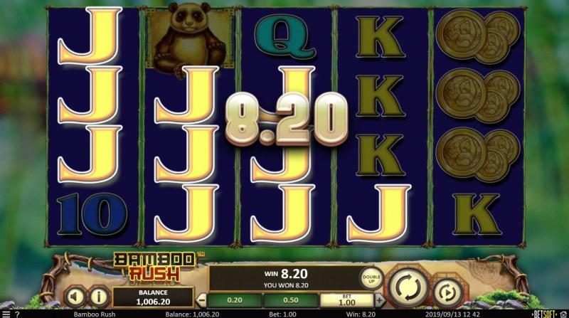 Bamboo Rush :: Multiple winning paylines