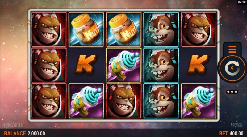 Play slots at House of Jack: House of Jack featuring the Video Slots Banana Odyssey with a maximum payout of $160,000