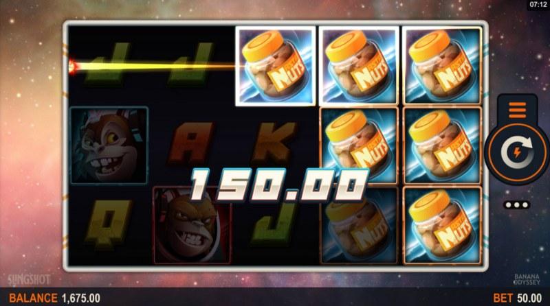 Banana Odyssey :: Multiple winning paylines