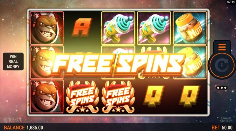 Play slots at Players Palace: Players Palace featuring the Video Slots Banana Odyssey with a maximum payout of $160,000