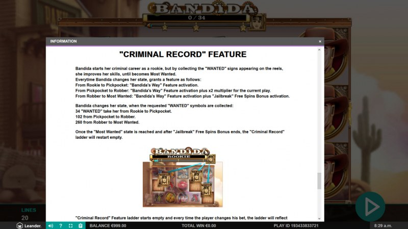 Bandida :: Criminal Record Feature