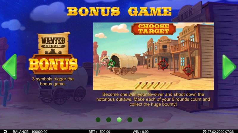 Bandidos Showdown :: Bonus Game Rules