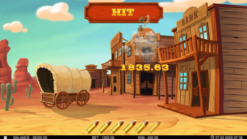 Bandidos Showdown :: Bonus Pick Game Board