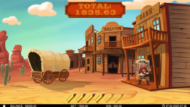 Bandidos Showdown :: Shot targets and win cash prizes
