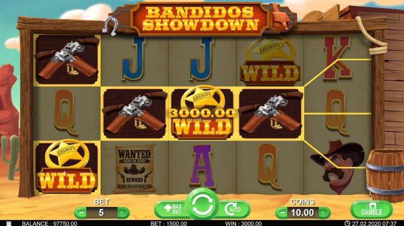 Bandidos Showdown :: Four of a kind