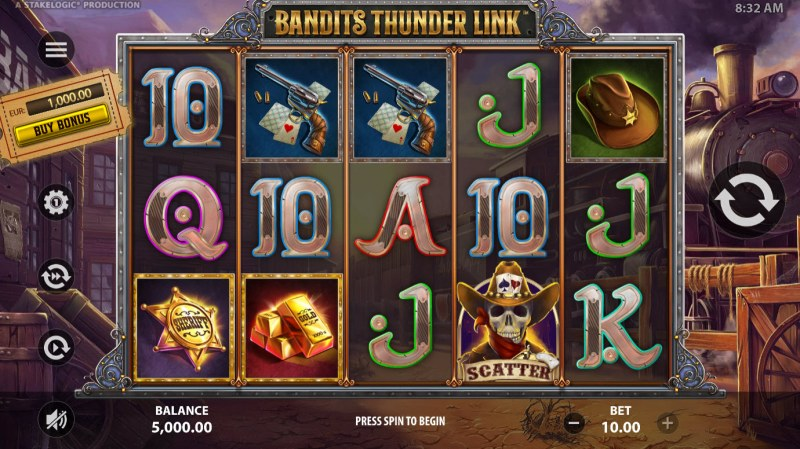 Bandits Thunder Link :: Main Game Board