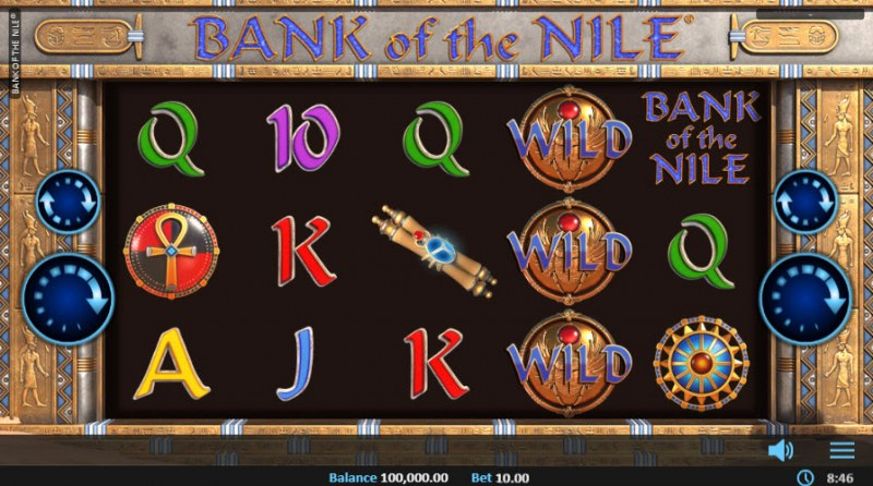 Bank of the Nile :: Main Game Board