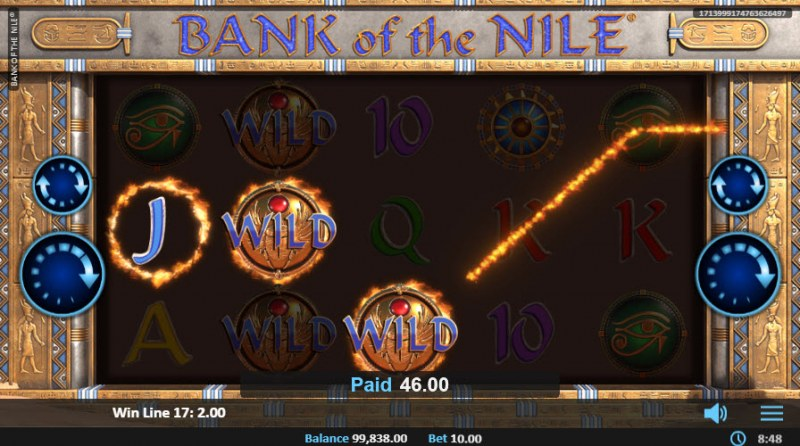 Bank of the Nile :: Three of a kind