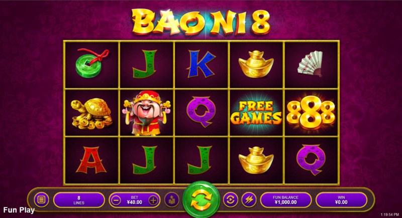 Bao Ni 8 :: Main Game Board