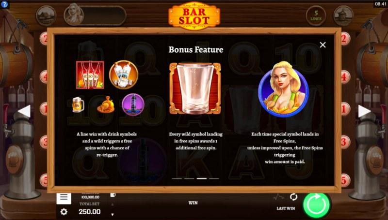 Bar Slot :: Bonus Feature