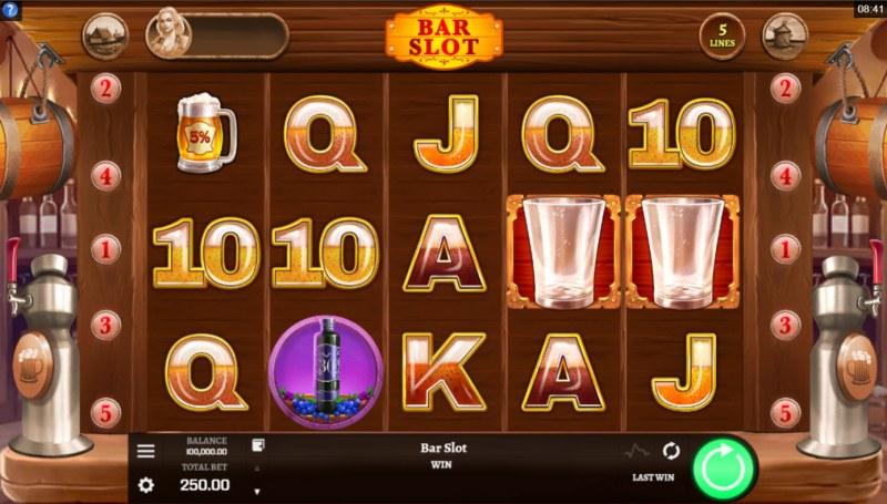 Bar Slot :: Base Game Screen