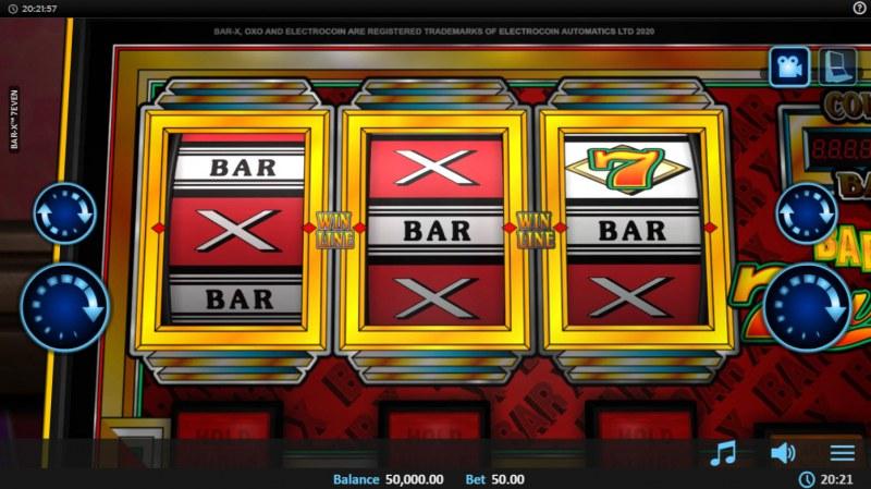 Bar-X 7even :: Main Game Board