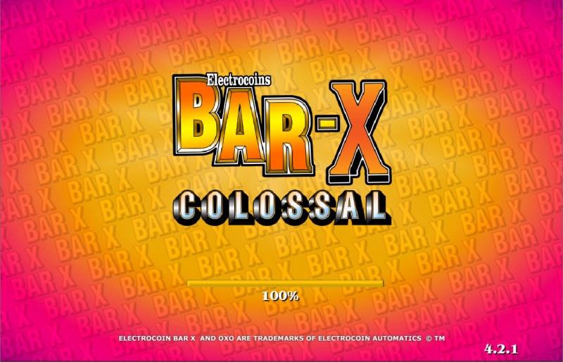BAR X Colossal :: Introduction