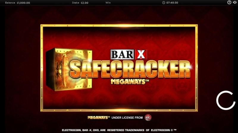 BAR-X Safecracker Megaways :: Introduction
