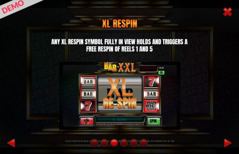 BAR-X-XL :: Respin Feature