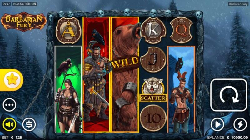 Barbarian Fury :: Main Game Board