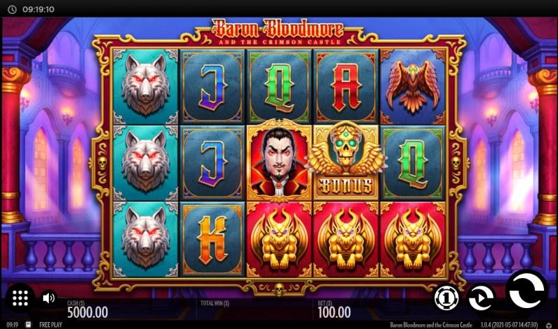 Baron Bloodmore and the Crimson Castle :: Main Game Board