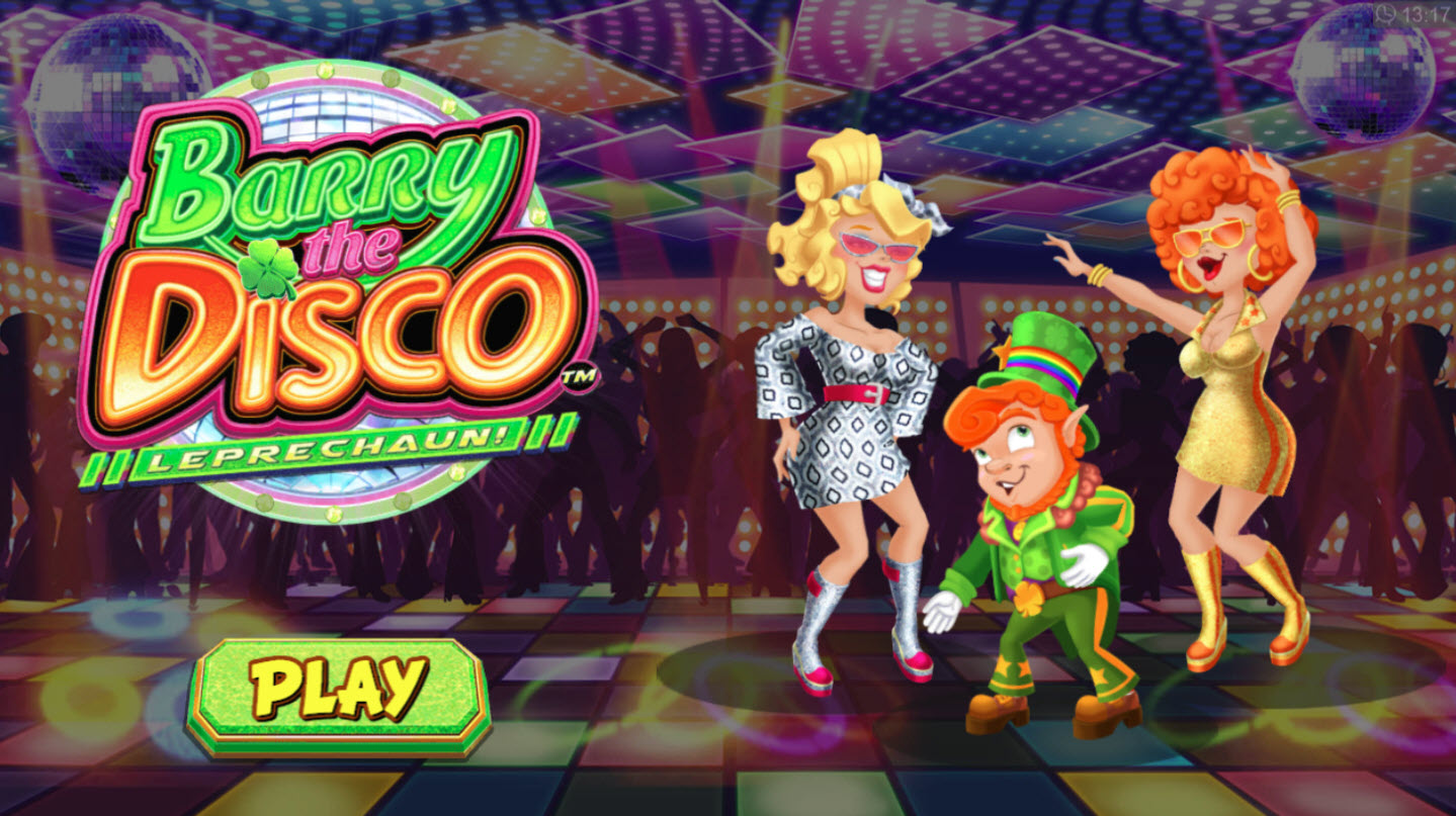 Play slots at Zet Casino: Zet Casino featuring the Video Slots Barry the Disco Leprechaun with a maximum payout of $60,000