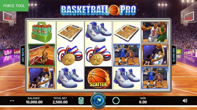 Basketball Pro :: Main Game Board