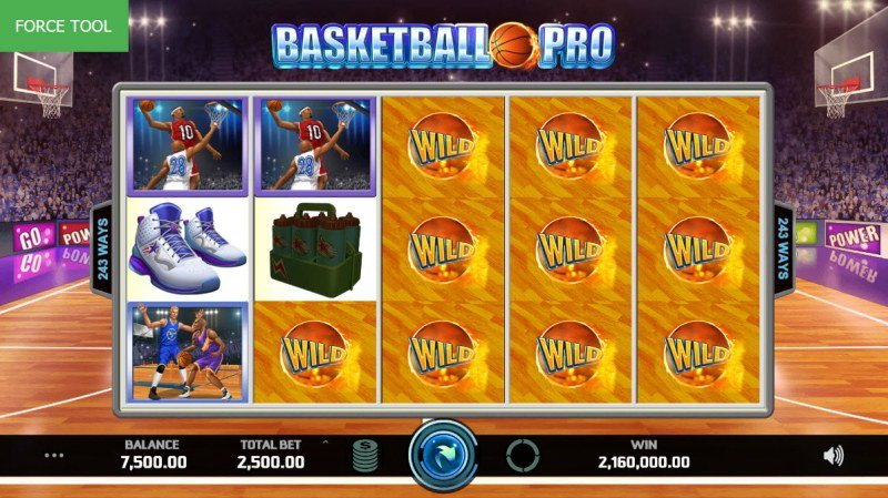 Basketball Pro :: Multiple winning combinations leads to a big win