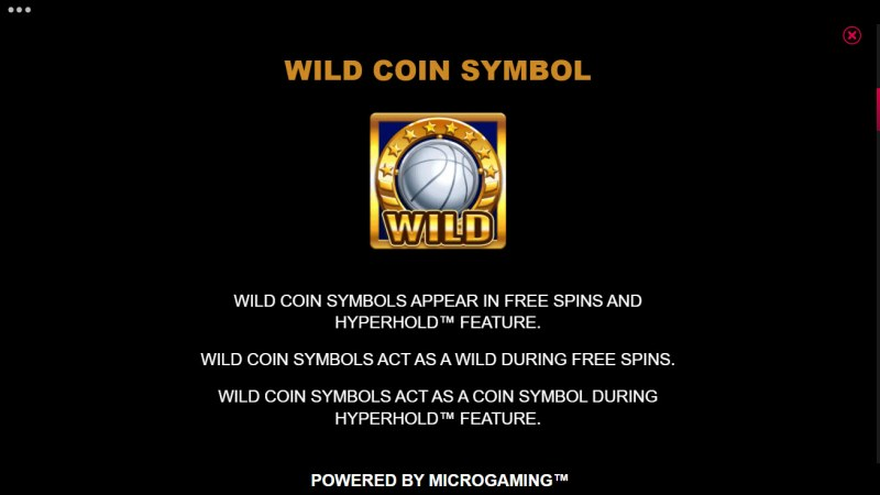 Basketball Star on Fire :: Wild Coin Symbol