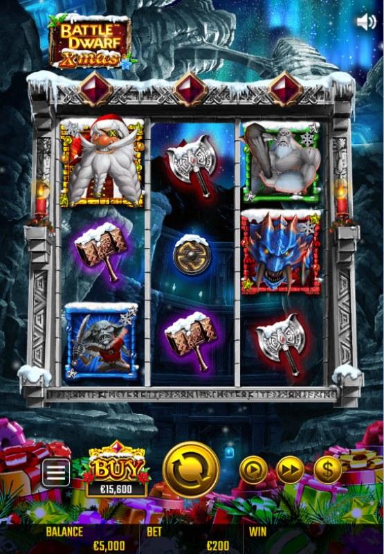 Battle Dwarf Xmas :: Main Game Board