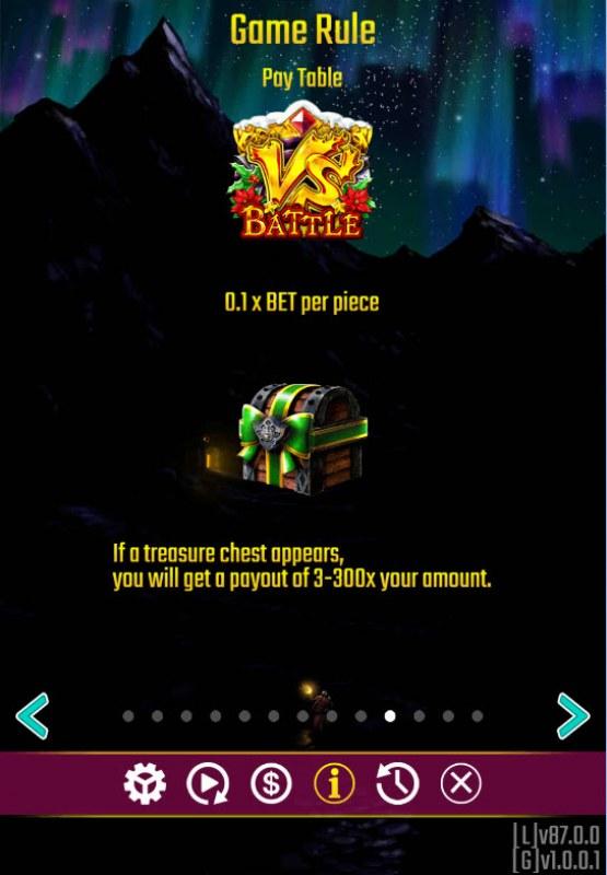 Battle Dwarf Xmas :: Scatter Symbol Rules