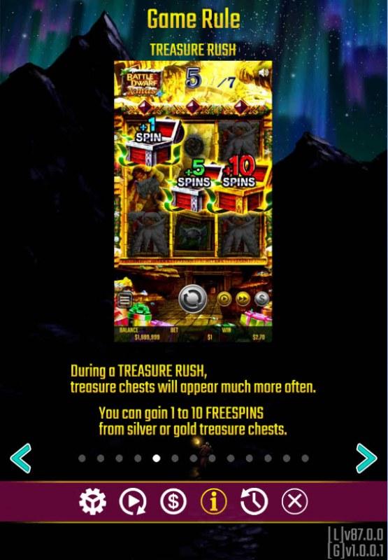 Battle Dwarf Xmas :: Treasure Rush