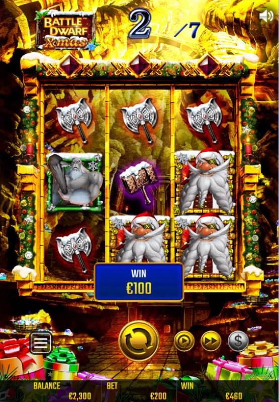 Battle Dwarf Xmas :: Multiple winning combinations