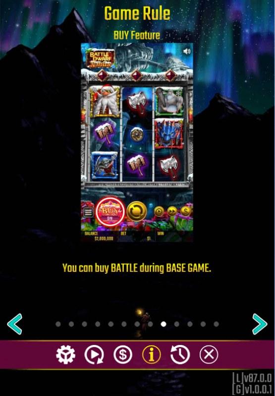 Battle Dwarf Xmas :: Buy Feature